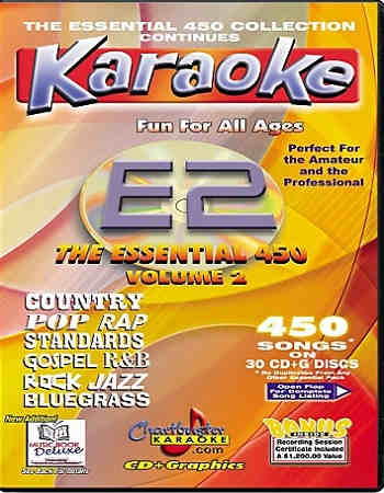 Chartbuster Karaoke - Reviews - Disc Identity - Song Lists