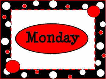 Childrens Audio Productions Karaoke - days and months - Monday banner