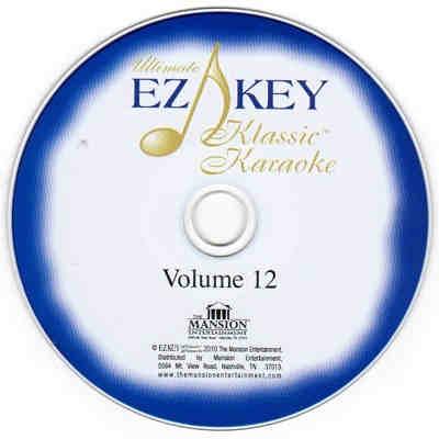 EZ KEY Karaoke CDG disc EZKKK12