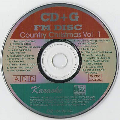 FM Christmas country Christmas disc - FM5002