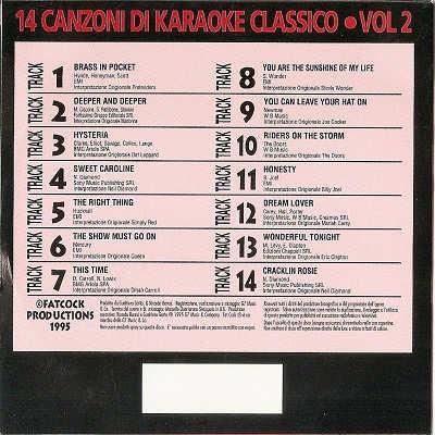 Fat Cock Karaoke - FC2 - Back Cover