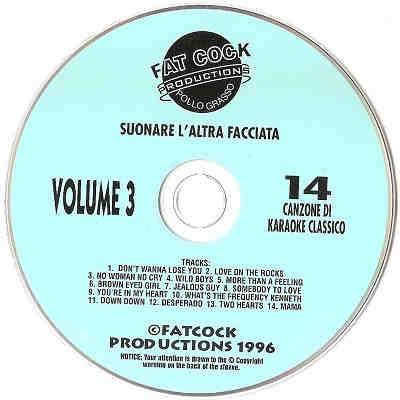 Fat Cock Karaoke - FC3 - Label