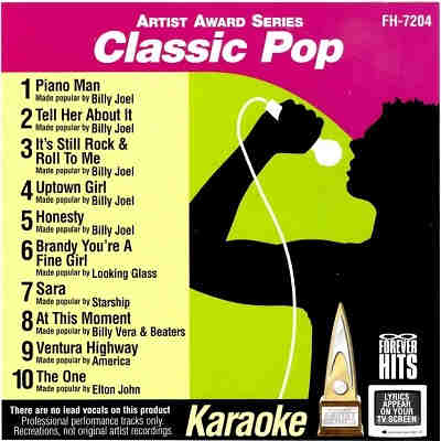 Forever Hits Karaoke FH7204 - Front Classic Pop CDG