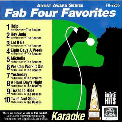 Forever Hits Karaoke FH7206 - Front - The Beatles CDG