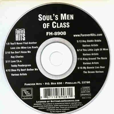 Forever Hits Karaoke FH8908 - Label - Soul Men CDG