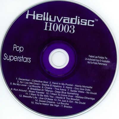 Helluvadisc Karaoke - H0003 Purple disc