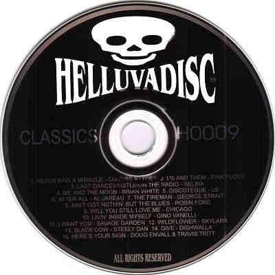 Helluvadisc Karaoke - skull and cross bones CDG