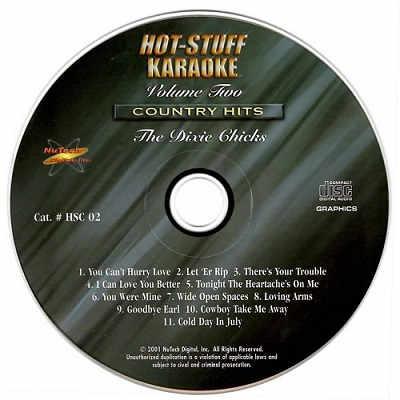 Hot Stuff Karaoke - HSC02 Label