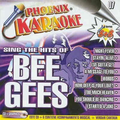 Phoenix Karaoke - English Series - Bee Gees - KP007E
