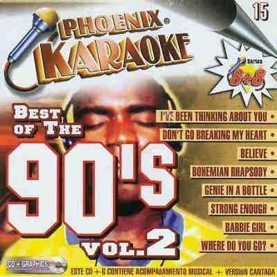 Phoenix Karaoke KP015E - Front - 90s - CD+G 90's