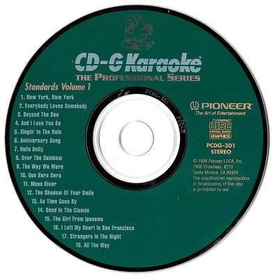 Pioneer Karaoke - PI301 - Label - karaoke shack and forum