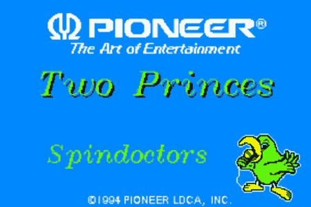 Pioneer Karaoke discs - graphics