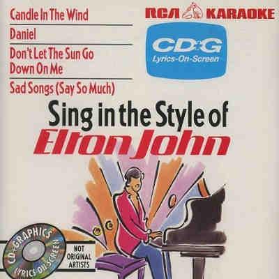 RCA Karaoke - Elton John - RCA534 CDG - Front
