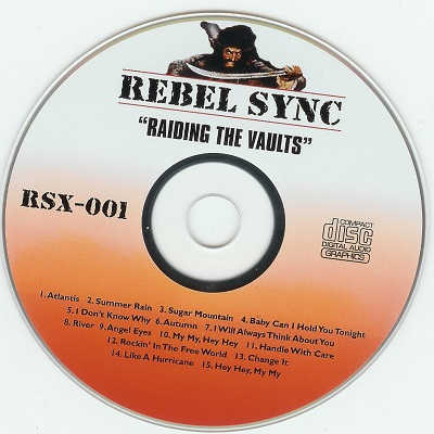 Rebel Sync Karaoke RSX001 - Label CDG