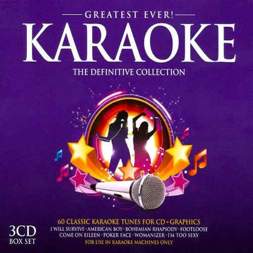 Union Square Music - Karaoke Series - 3 disc set