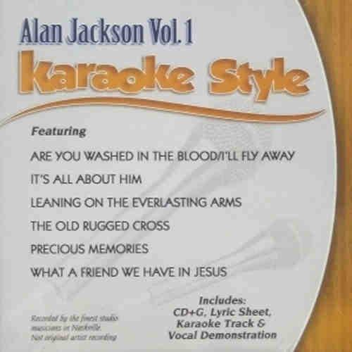 Daywind Karaoke - Alan Jackson Vol 1 - DWAJ1