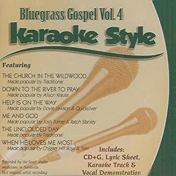 Daywind Karaoke - Bluegrass Gospel 4 - DWBG4 - CDG