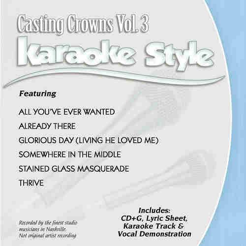 Daywind Karaoke - Casting Crowns Vol 3 DWCC2