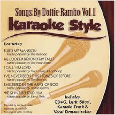 Daywind Karaoke - Dottie Rambo Vol 1 - DWDR1