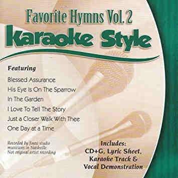 Daywind Karaoke - Favorite Hymns Vol 2 - DWFH2