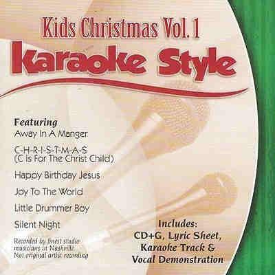 Daywind Karaoke - Kids Christmas Vol 1 - DWKCH1 CDG