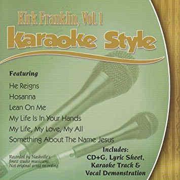 Daywind Karaoke - Kirk Franklin Vol 1`