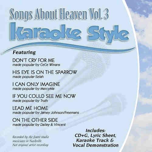 Daywind Karaoke - Songs About Heaven Vol 2 DWSAH2