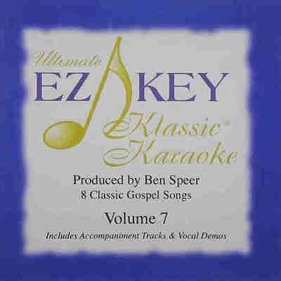 EZ KEY Karaoke EZKKK07 Disc Front