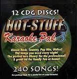 Hot Stuff Karaoke - pak 3