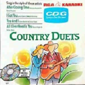 RCA Karaoke - country duets RCA527