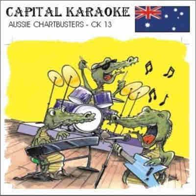 Australian And New Zealand Karaoke - CKA13 Front