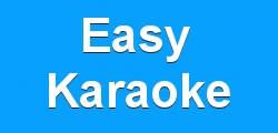 Easy Karaoke - blue banner