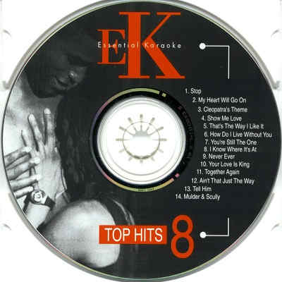 Easy Karaoke ET008 CDG Label
