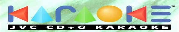 JVC Karaoke - logo - banner - disc identity - song lists