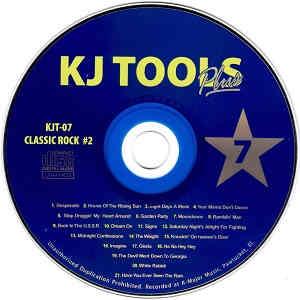 KJ Tools Karaoke Series - KTJ07 Label - revews discs song lists