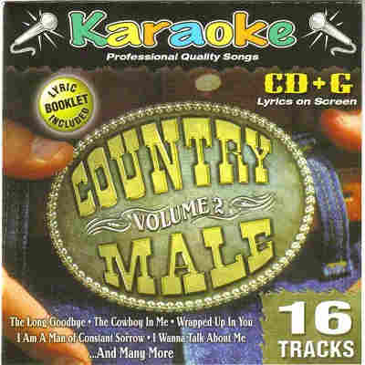 Karaoke Bay KBA28652 - Front - Male Country - CDG