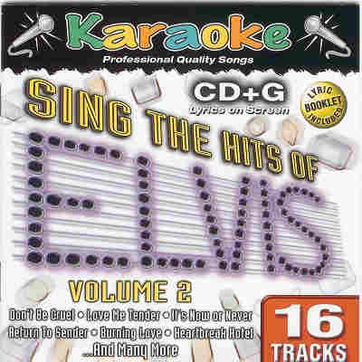 Karaoke Bay KBA33242 - Front - Elvis Presley song list