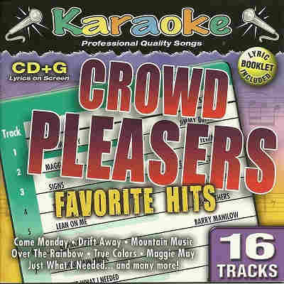 Karaoke Bay KBA34802 - Front - Crowd Pleasers - song books