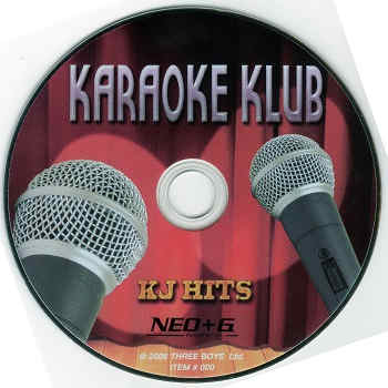 Karaoke Klub - KJ Hits disc neo+c