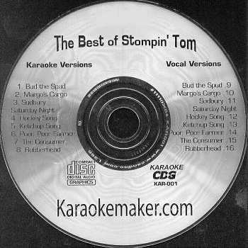Karaokemaker disc - Stomping Tom - Vol 1