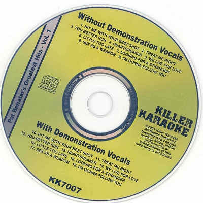 Killer Karaoke Disc - KK7007 CDG