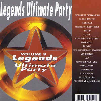 Legends Karaoke Disc UKP09 - Front - karaoke forums