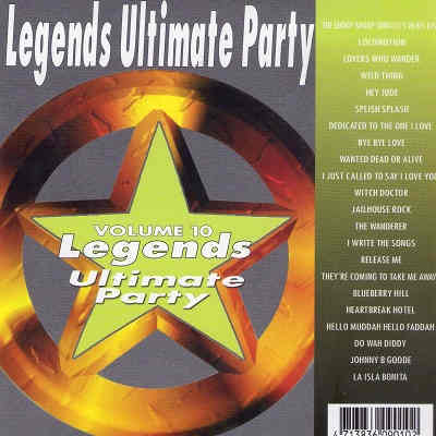 Legends Karaoke Disc UKP10 - Front - Ultimate Party