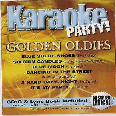 Madacy Karaoke Party MKP2-5372 - Front Oldies - karaoke jockey song books