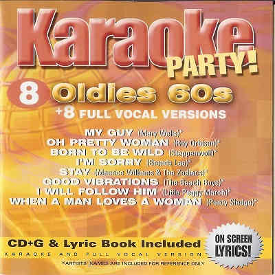 Madacy Karaoke Party MKP2-5691 - Front - oldies - karaoke song lists