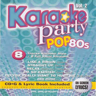 Madacy Karaoke Party MKP2-5987-2 - Front 80s pop - download song books