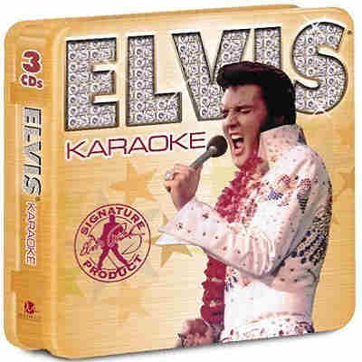Madacy karaoke - elvis presley - 3 disc set