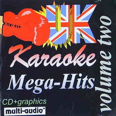 Megavox Karaoke MVUK002 - Cover - CDG - song books