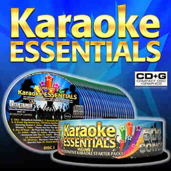 Mr Entertainer karaoke essentials cdg discs