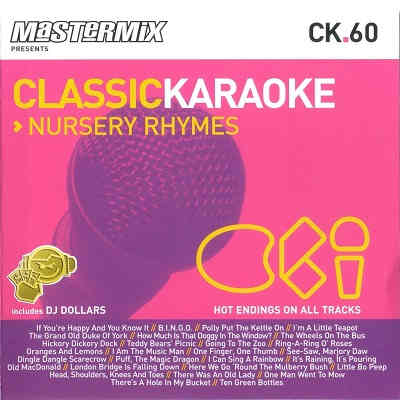 Music Factory Karaoke CK060 - Front - discs - song books
